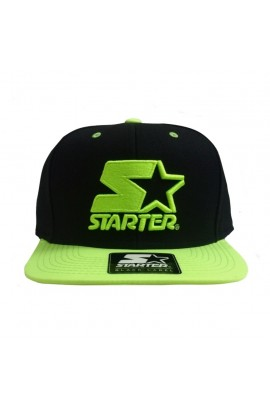 Starter Black Label Cap Icon Black Neon Green Snapback