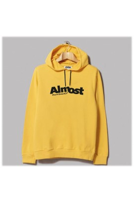Horn Skateboards Almost Sweatshirt Yellow