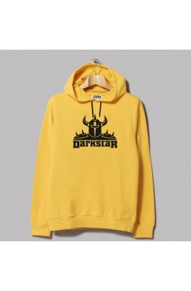 Horn Skateboards Darkstar Sweatshirt Yellow
