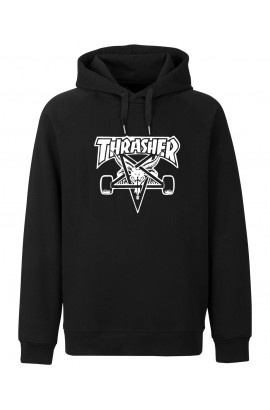 Horn Skateboards Thrasher Sweatshirt Black