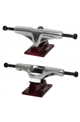 Core Truck 5.0 Silver Red Hollow Kingpin