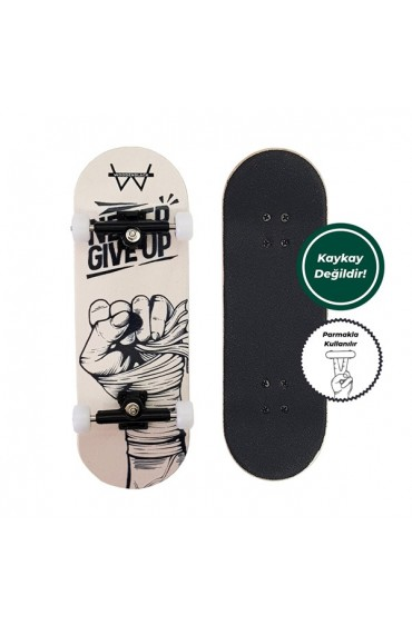 Woodenblack Never Give Up Fingerboards Parmak Kaykay